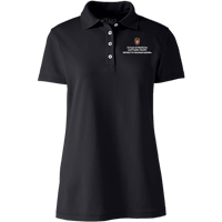 Cover Image For Lands' End SMPH WI Women's Polo (Black)