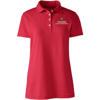 Image For Lands' End Outfitters SMPH WI Women's Polo (Red)