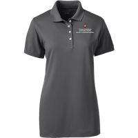 Image For Lands' End Outfitters SMPH WI Women's Polo (Gray)