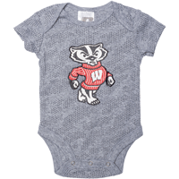 Image For BSC Bucky Badger Onesie (Gray)