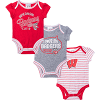 Image For BSC Wisconsin Infant Onesie Set