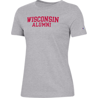 Image For Champion Women's WI Alumni T-Shirt (Gray)