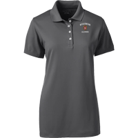 Image For Lands' End Outfitters WI Alumni Women's Polo (Gray)