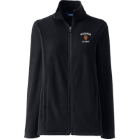 Image For Lands' End Outfitters WI Alumni Women's Full Zip (Blk)