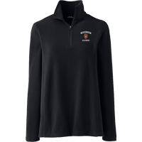 Image For Lands' End Outfitters WI Alumni Women's ¼ Zip (Black)