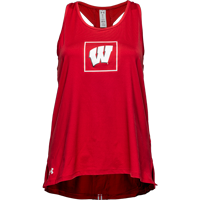 Image For Under Armour Women's WI Training Tank (Red) *