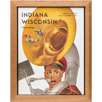 Image For Asgard Press Framed Wisconsin Print (10-29-1949)