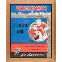 Image For Asgard Press Framed Wisconsin Print (10-3-1953)