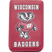 Image For Spirit Products,  LTD Wisconsin Badgers Phone Wallet (Red)