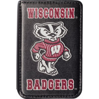 Image For Spirit Products,  LTD Wisconsin Badgers Phone Wallet (Black)