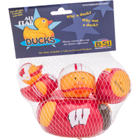Image For BSI Wisconsin Rubber Duck Three Pack