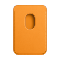 Image For Apple iPhone Magsafe Leather Wallet: California Poppy