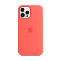 Image For Apple iPhone 12 Pro Max Silicone Case: Pink Citrus