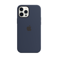 Image For Apple iPhone 12 Pro Max Silicone Case: Deep Navy