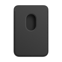 Image For Apple iPhone Magsafe Leather Wallet: Black
