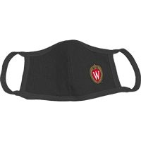 Cover Image For Alta Gracia Wisconsin Face Mask W (Black)