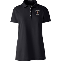 Image For Lands' End WI Alumna Women's Polo (Black)
