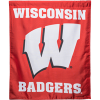 Image For Sewing Concept Wisconsin Badgers Double Sided Banner